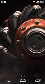 Machinery Gear Wheel 4K LWP screenshot 1