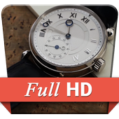 Real Old Clock 3D Live WP icon