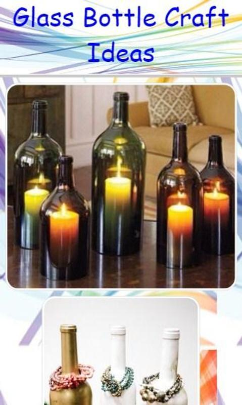 Glass Bottle Craft Ideas For Android Apk Download