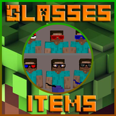 HD Glasses items Mod for Minecraft MCPE icon