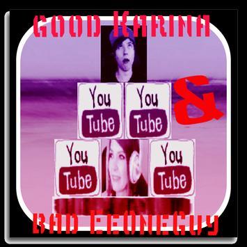 bad EeOneGuy & good Karina apk screenshot