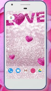 Glitter Love Wallpaper screenshot 3