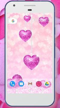 Glitter Love Wallpaper screenshot 2