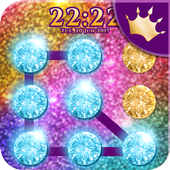 Glitter Pattern Lock Screen ✨ icon