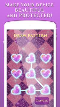 Glitter Pattern Lock Screen ✨ apk screenshot