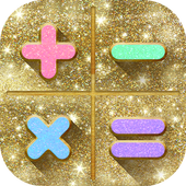 Glitter Calculator - Stylish Calculator icon
