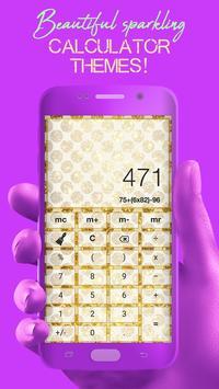 Glitter Calculator - Stylish Calculator screenshot 2