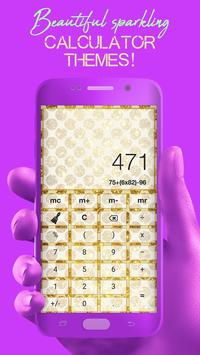 Glitter Calculator - Stylish Calculator screenshot 2
