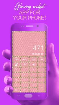 Glitter Calculator - Stylish Calculator screenshot 4