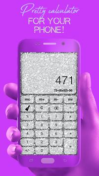 Glitter Calculator - Stylish Calculator screenshot 5