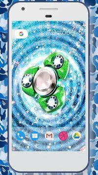 Glitter fidget spinner wallpapers screenshot 1