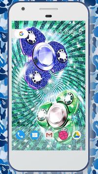 Glitter fidget spinner wallpapers screenshot 2