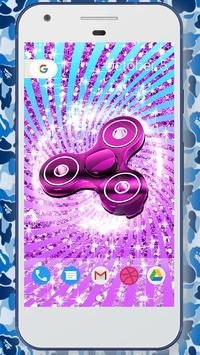 Glitter fidget spinner wallpapers screenshot 3