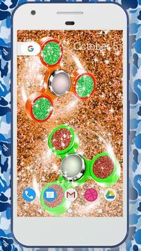 Glitter fidget spinner wallpapers apk screenshot