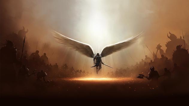 Angel Live Wallpaper poster
