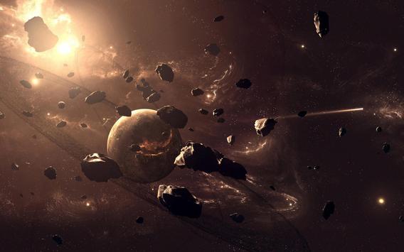 Meteor Live Wallpaper apk screenshot
