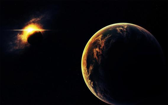 Solar Eclipse Live Wallpaper poster