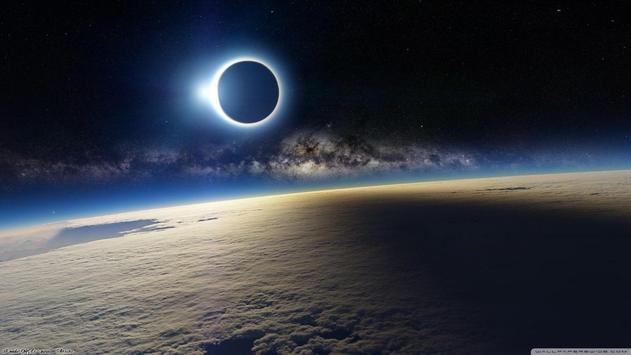 Solar Eclipse Live Wallpaper apk screenshot