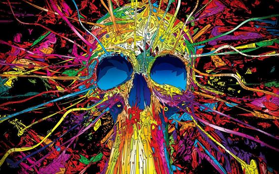 Psychedelic Live Wallpaper poster