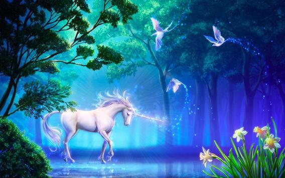 Unicorn Live Wallpaper apk screenshot