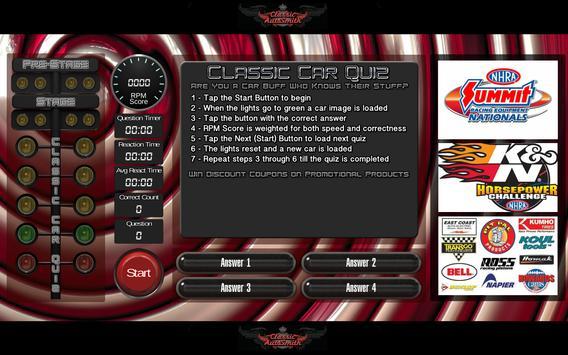 Classic Car Quiz poster