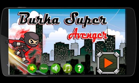 Burka Super Avenger poster
