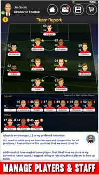 Club Soccer Director screenshot 5