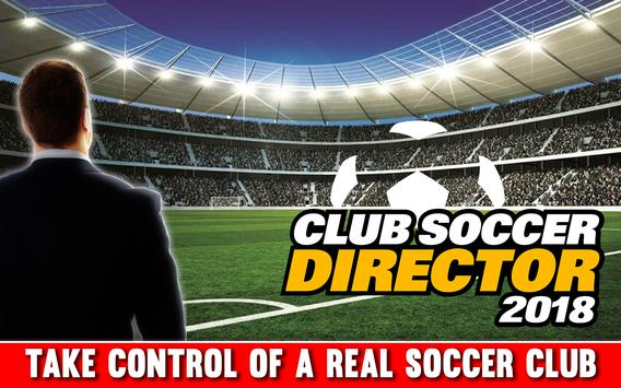 Club Soccer Director 2018 ポスター