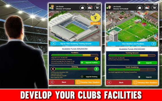 Club Soccer Director 2018 - Club Football Manager apk screenshot