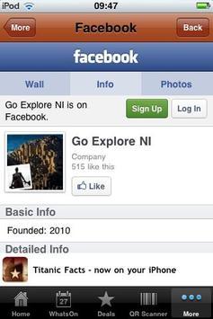 Go Explore NI screenshot 2
