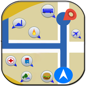 GPS Route Finder & Navigation (location Tracker) icon