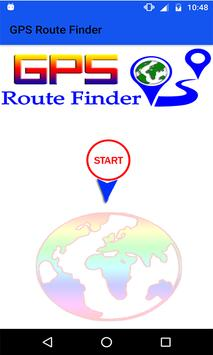 GPS Route Finder & Navigation (location Tracker) poster