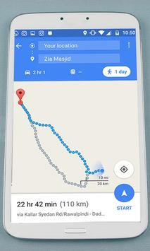 GPS Route Finder & Navigation (location Tracker) screenshot 3