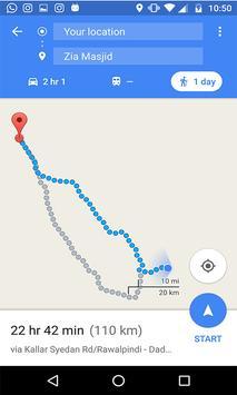 GPS Route Finder & Navigation (location Tracker) apk screenshot