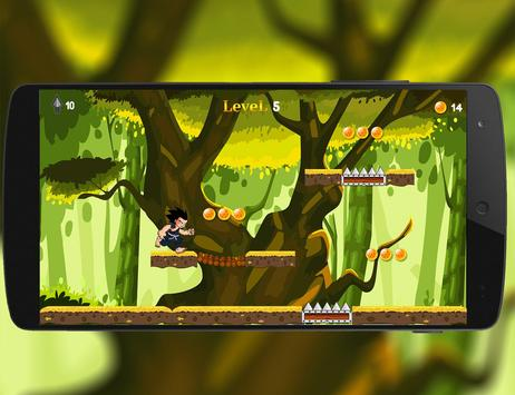 Super Dragon Z Run Adventure 2 screenshot 1