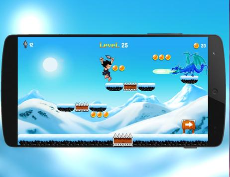 Super Dragon Z Run Adventure 2 screenshot 5