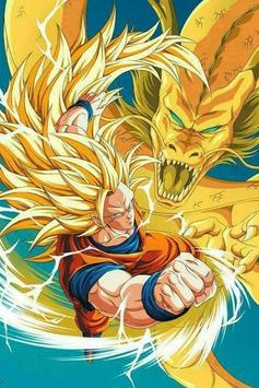 Super Saiyan 3 Wallpaper HD 4K Apk Screenshot