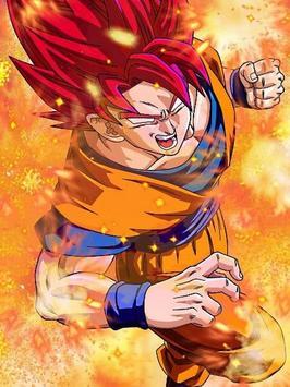 Goku SSG Wallpaper HD 4K poster