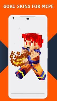 Skins GOKU for MCPE screenshot 1