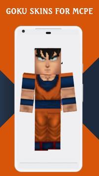 Skins GOKU for MCPE screenshot 4
