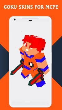 Skins GOKU for MCPE screenshot 5