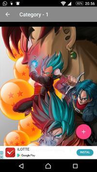 Goku Wallpaper DBZ Super Saiyan screenshot 19