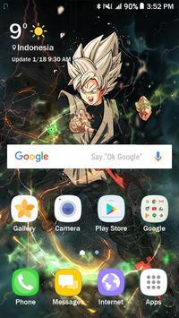 Goku Wallpaper DBZ Super Saiyan screenshot 2