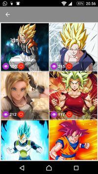 Goku Wallpaper DBZ Super Saiyan screenshot 4