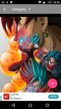 Goku Wallpaper DBZ Super Saiyan screenshot 5