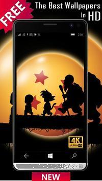 Goku Wallpaper DBZ Super Saiyan screenshot 7