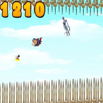 Goku saiyan hero apk screenshot