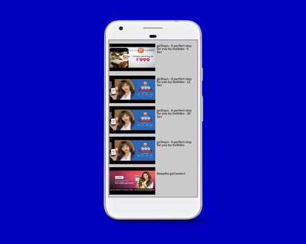 Goibibo Video List screenshot 2
