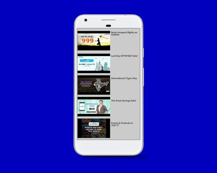 Goibibo Video List screenshot 3