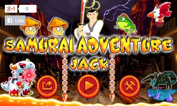 Samurai Adventure Jack apk screenshot